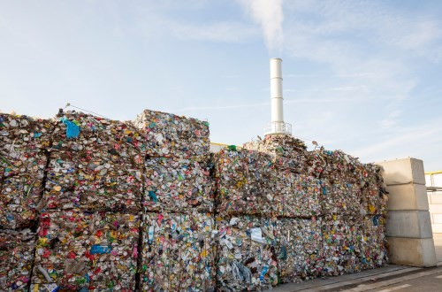Energy-from-waste at waste or sewage sites
